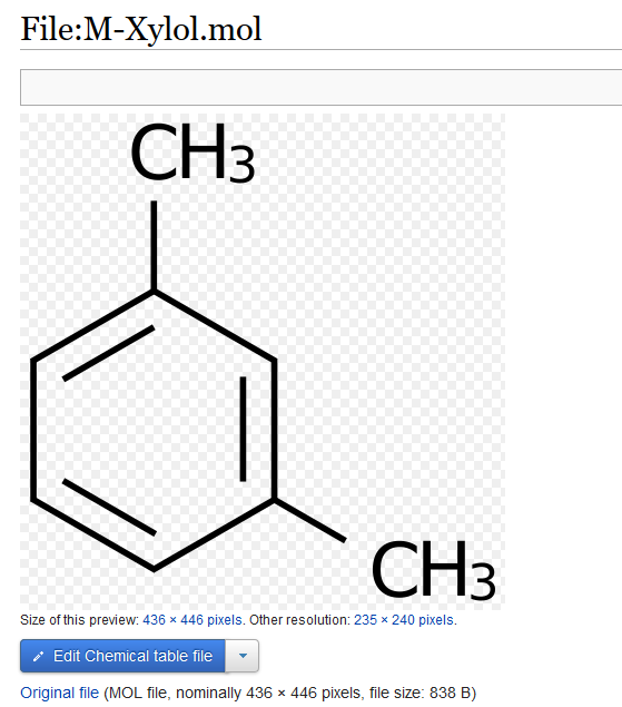 A file page generated by MediaWiki displaying the structural formula as an image.